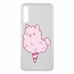 Чехол для Samsung A7 2018 Llama Ice Cream