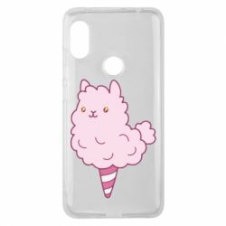 Чехол для Xiaomi Redmi Note 6 Pro Llama Ice Cream