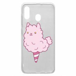 Чехол для Samsung A20 Llama Ice Cream