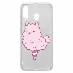 Чехол для Samsung A30 Llama Ice Cream