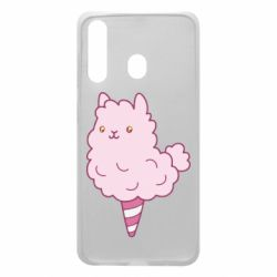Чехол для Samsung A60 Llama Ice Cream