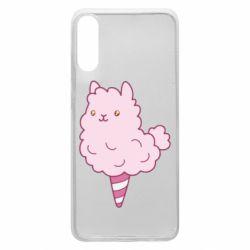 Чехол для Samsung A70 Llama Ice Cream