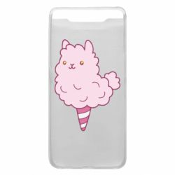 Чехол для Samsung A80 Llama Ice Cream