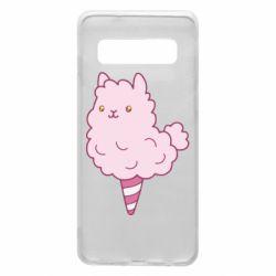 Чехол для Samsung S10 Llama Ice Cream