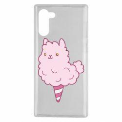Чехол для Samsung Note 10 Llama Ice Cream