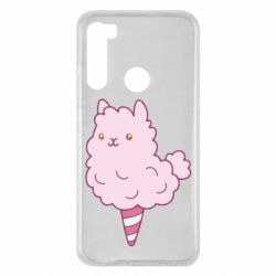 Чехол для Xiaomi Redmi Note 8 Llama Ice Cream