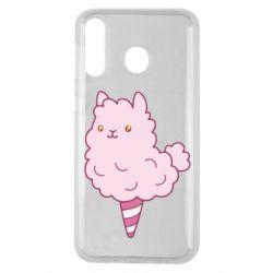 Чехол для Samsung M30 Llama Ice Cream