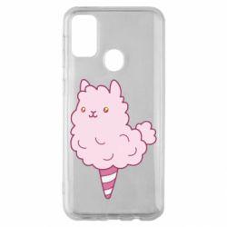 Чехол для Samsung M30s Llama Ice Cream