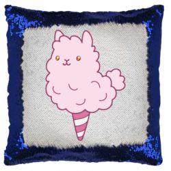 Подушка-хамелеон Llama Ice Cream