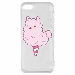 Чехол для iPhone5/5S/SE Llama Ice Cream