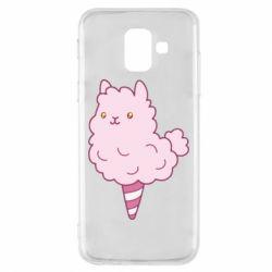 Чехол для Samsung A6 2018 Llama Ice Cream