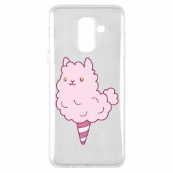 Чехол для Samsung A6+ 2018 Llama Ice Cream