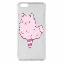 Чехол для iPhone 6 Plus/6S Plus Llama Ice Cream