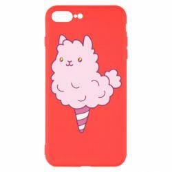 Чехол для iPhone 7 Plus Llama Ice Cream