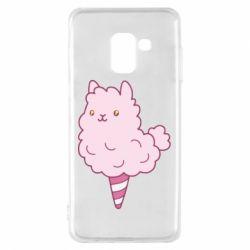 Чехол для Samsung A8 2018 Llama Ice Cream