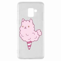 Чехол для Samsung A8+ 2018 Llama Ice Cream
