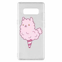 Чехол для Samsung Note 8 Llama Ice Cream