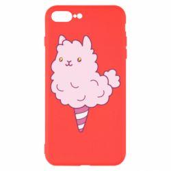 Чехол для iPhone 8 Plus Llama Ice Cream