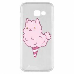 Чехол для Samsung A5 2017 Llama Ice Cream