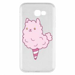 Чехол для Samsung A7 2017 Llama Ice Cream