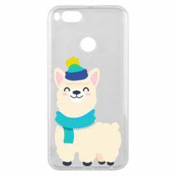 Чехол для Xiaomi Mi A1 Llama in a blue hat
