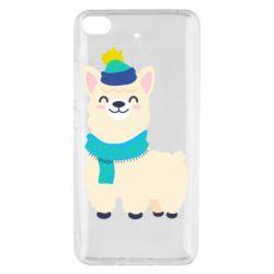 Чехол для Xiaomi Mi 5s Llama in a blue hat