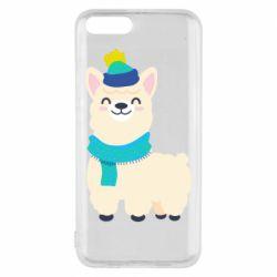 Чехол для Xiaomi Mi6 Llama in a blue hat
