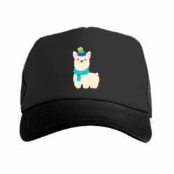 Кепка-тракер Llama in a blue hat