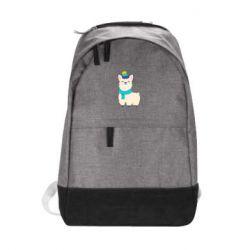 Городской рюкзак Llama in a blue hat