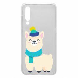 Чехол для Xiaomi Mi9 Llama in a blue hat