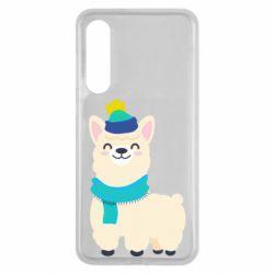 Чехол для Xiaomi Mi9 SE Llama in a blue hat