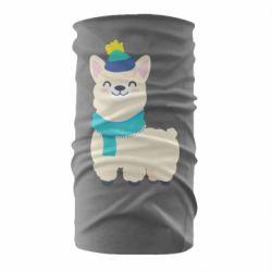Бандана-труба Llama in a blue hat