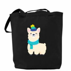 Сумка Llama in a blue hat