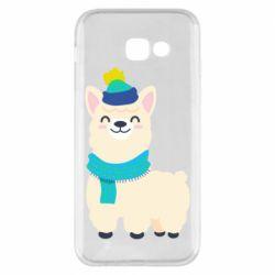 Чехол для Samsung A5 2017 Llama in a blue hat