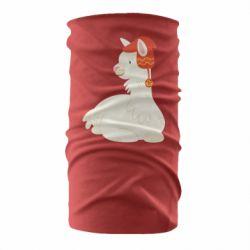 Бандана-труба Llama in a red hat
