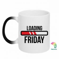 Кружка-хамелеон Loading Friday