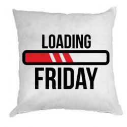 Подушка Loading Friday