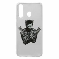 Чехол для Samsung A60 Logan Wolverine vector