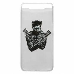 Чехол для Samsung A80 Logan Wolverine vector