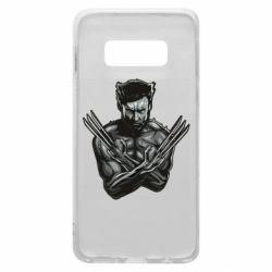 Чехол для Samsung S10e Logan Wolverine vector