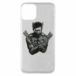 Чехол для iPhone 11 Logan Wolverine vector