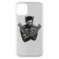 Чехол для iPhone 11 Pro Logan Wolverine vector