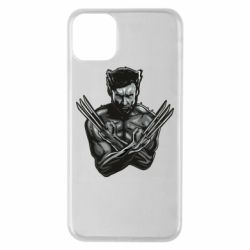 Чехол для iPhone 11 Pro Max Logan Wolverine vector