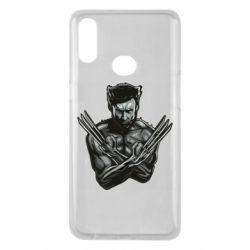 Чехол для Samsung A10s Logan Wolverine vector