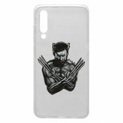 Чехол для Xiaomi Mi9 Logan Wolverine vector