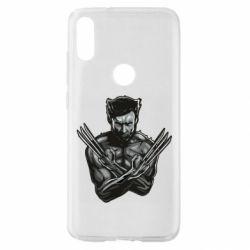 Чехол для Xiaomi Mi Play Logan Wolverine vector