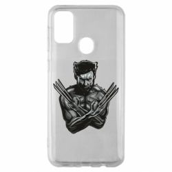 Чехол для Samsung M30s Logan Wolverine vector