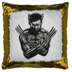 Подушка-хамелеон Logan Wolverine vector