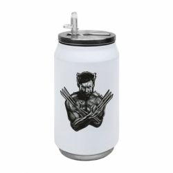 Термобанка 350ml Logan Wolverine vector
