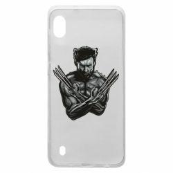 Чехол для Samsung A10 Logan Wolverine vector